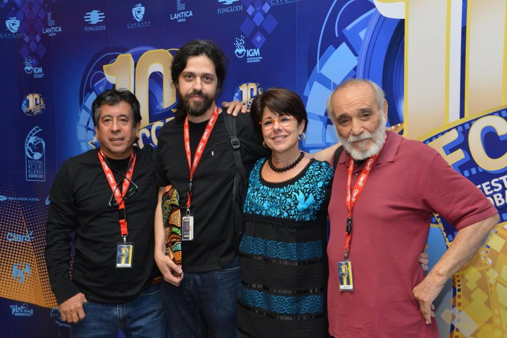Jorge Dalton-Miguel Coyula-Susy Caula-Rafael Alcide