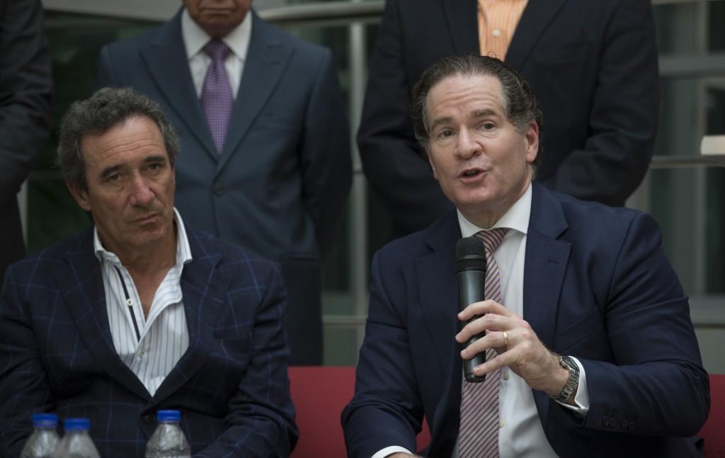 Luis Scalella y Manuel Corripio